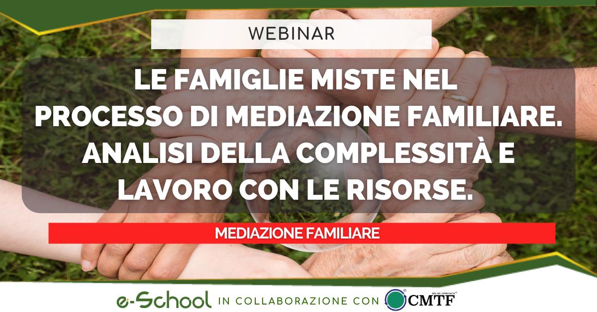 webinar mediazione familiare: le famiglie miste